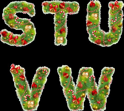 Alphabet Noel alphabet noel