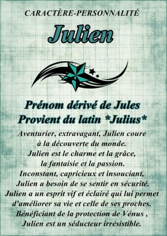 Carte Bonne Fete Julien.Bonne Fete Julien