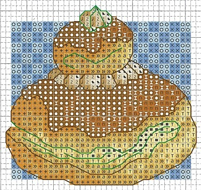 Boulangerie au point de croix