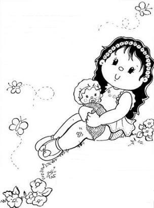 Coloriages - Coloriage pour petite fille ...